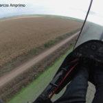 03 Falla de control de Tizón común del maíz en Gálvez, SF, Campaña agrícola 16/17 (Marzo), híbrido DK7210. Rendimiento lote aplicado con fungicida 8.000 kg/ha, sector no tratado 3.000 kg/ha (63% de pérdidas). Autor: Marcos Amprimo.